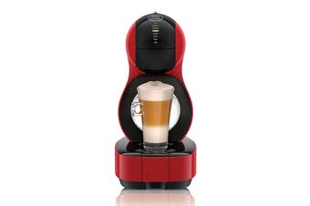 NESCAFE Dolce Gusto Lumio Automatic Capsule Coffee Machine - Red (NCU600RED)