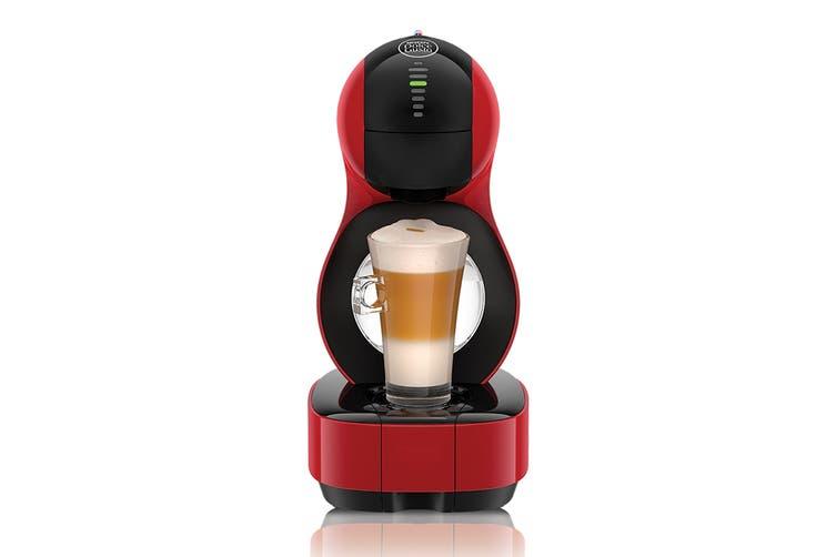 NESCAFE Dolce Gusto Lumio Automatic Capsule Coffee Machine with BONUS 48 Capsules - Red (NCU600RED)