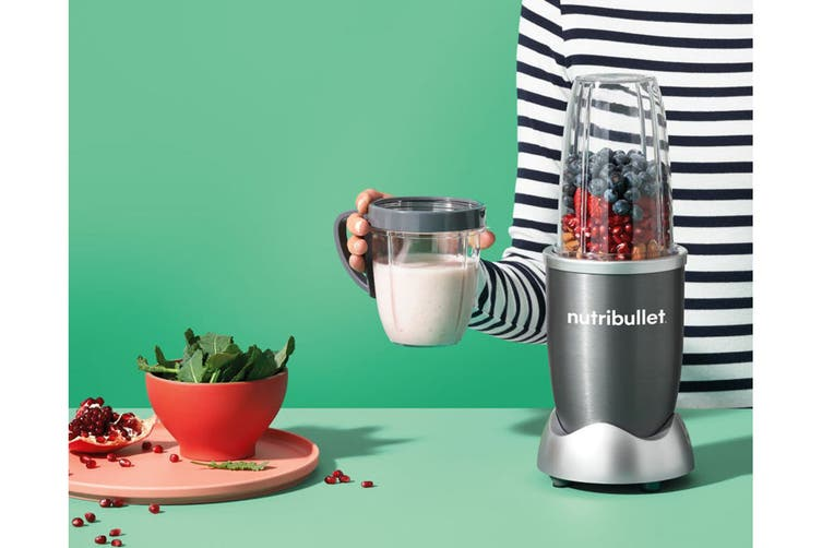 NutriBullet 600W 5 Piece Set Blender - Light Grey (NBR-0507LG)