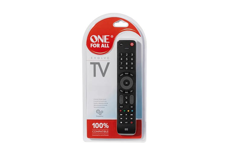 One For All Evolve TV Remote (URC7115)