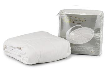 Onkaparinga Deluxe Cotton Quilted Waterproof Mattress Protector (Cot)