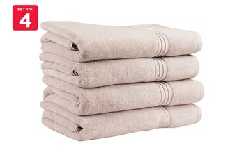 Onkaparinga Ethan 600GSM Bath Towel Set of 4 (Sand)