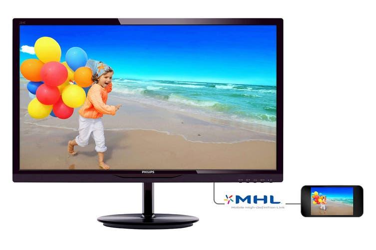 "Philips 28"" Full HD 1920x1080 Monitor (284E5QHAD)"
