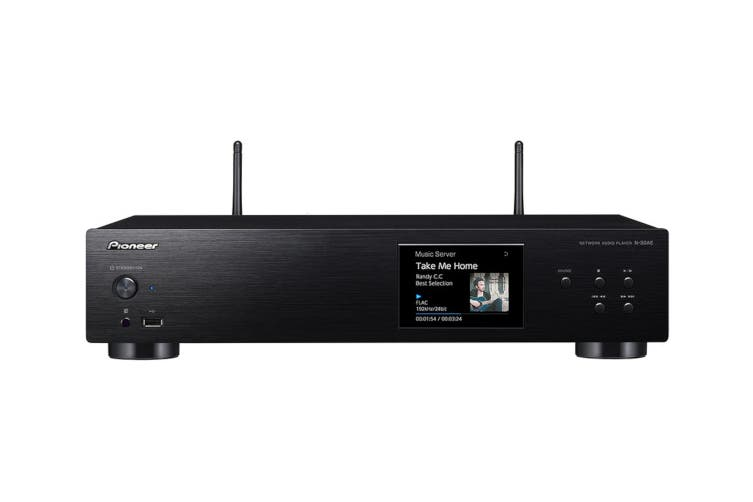 Pioneer High-Res Network Audio Player with AirPlay, Wi-Fi and USB Connection (N30AE)