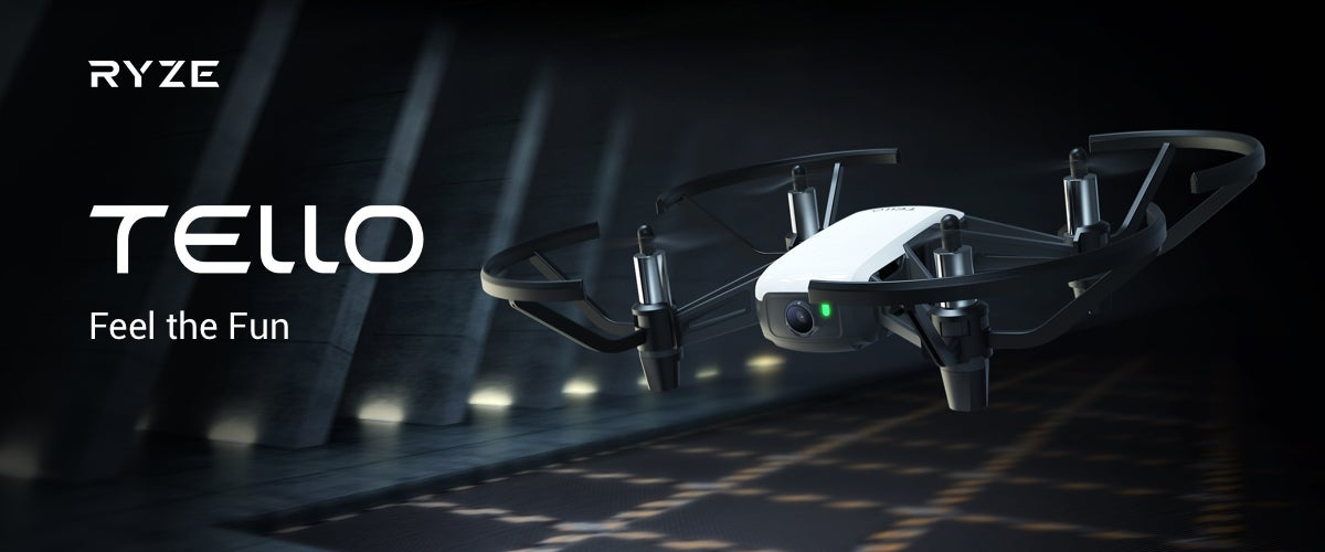 Ryze Tech Tello Drone Powered by DJI