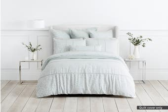 Sheridan Arland Quilt Cover (Seagrass, Queen)