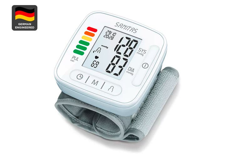 Sanitas Digital Wrist Blood Pressure Monitor (SBC22)