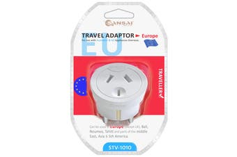 Sansai Travel Adaptor- Europe (STV-1010)