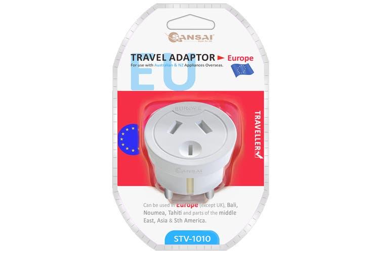Sansai Travel Adaptor- Europe (STV-1010)