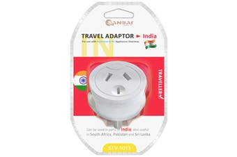Sansai Travel Adaptor- India (STV-1013)