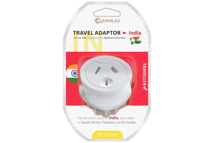 Sansai Travel Adaptor- India (STV-1013)