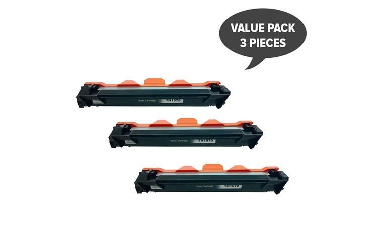 TN-1070 CT202137 Premium Generic Toner (Three Pack)