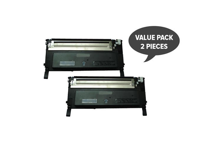 1230 1235 Black Premium Generic Toner (Two Pack)