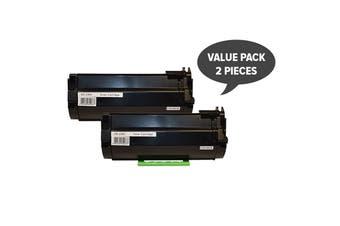 592-11952 #2360 Black Premium Generic Toner (Two Pack)