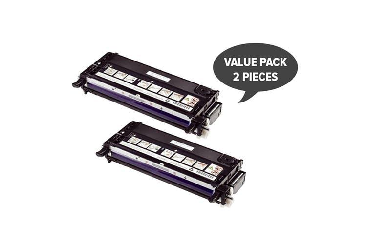 3130 Black Premium Generic Toner (Two Pack)