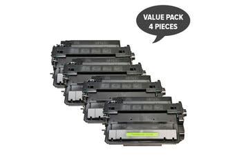 CE255X #55X Black Compatible Laser Toner (Four Pack)