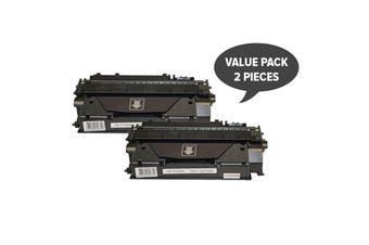 CF280X #80x Premium Generic Toner (Two Pack)