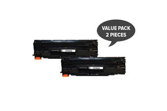 CF283A #83A Premium Generic Toner (Two Pack)