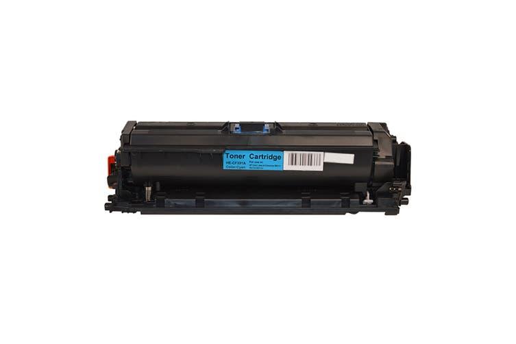 CF331A #654A Cyan Premium Generic Toner