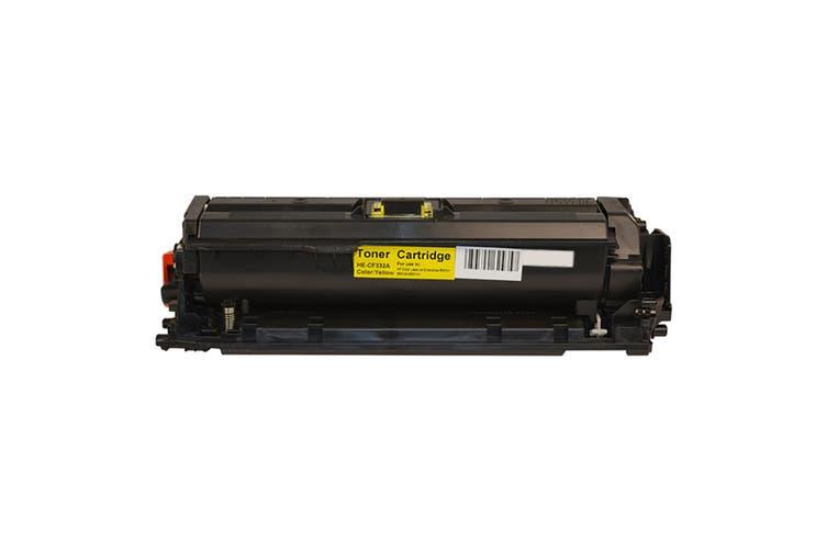 CF332A #654A Yellow Premium Generic Toner