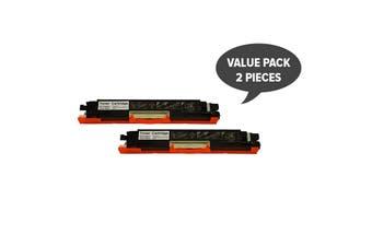 CF350A #130 Premium Black Generic Toner (Two Pack)