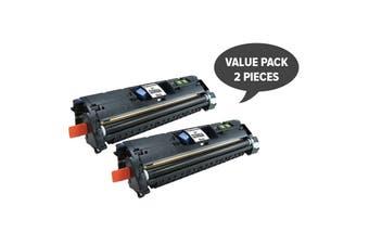 Q3960 C9700 C3960 EP87 CART301BK Black Toner (Two Pack)