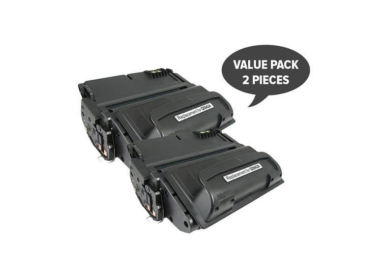 Q5942A HP #42A Q1338a Premium Generic Toner (Two Pack)
