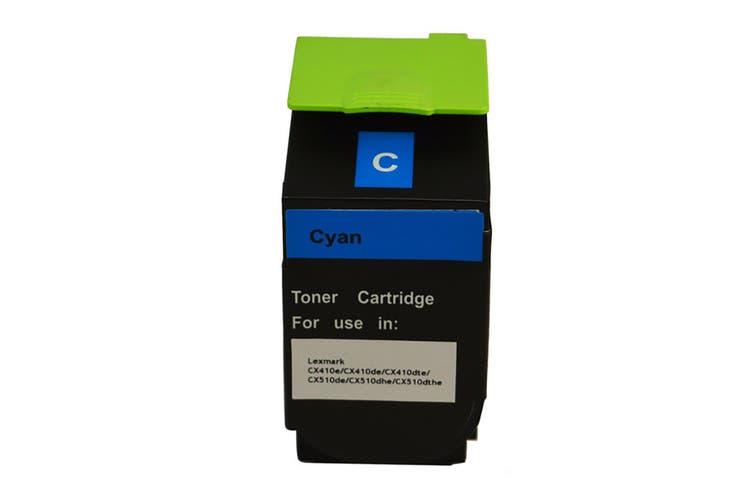 808HC CX410 CX510 Cyan Premium Generic Toner