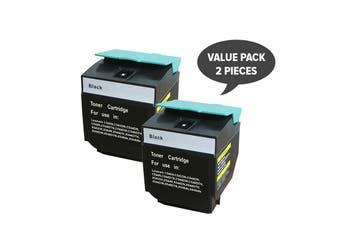 C540HIKG Premium Generic Black Toner (Two Pack)