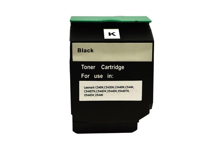 C544B C544XIKG Premium Generic Black Toner