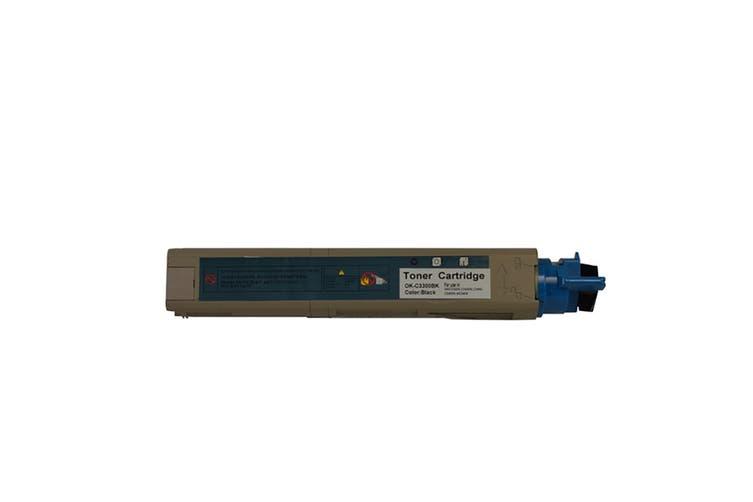 43459456 C3300 C3400 C3600 Black Universal Premium Generic Toner