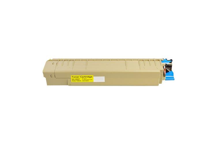 C8600 Premium Generic Yellow Toner
