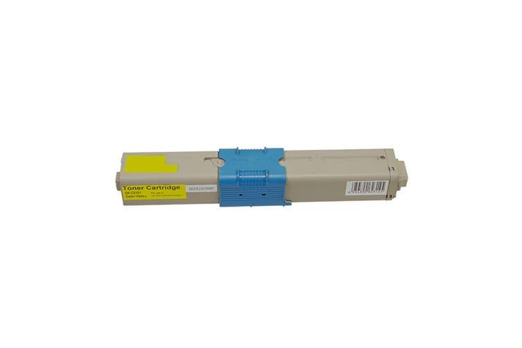 C510 4459725 Premium Generic Yellow Toner