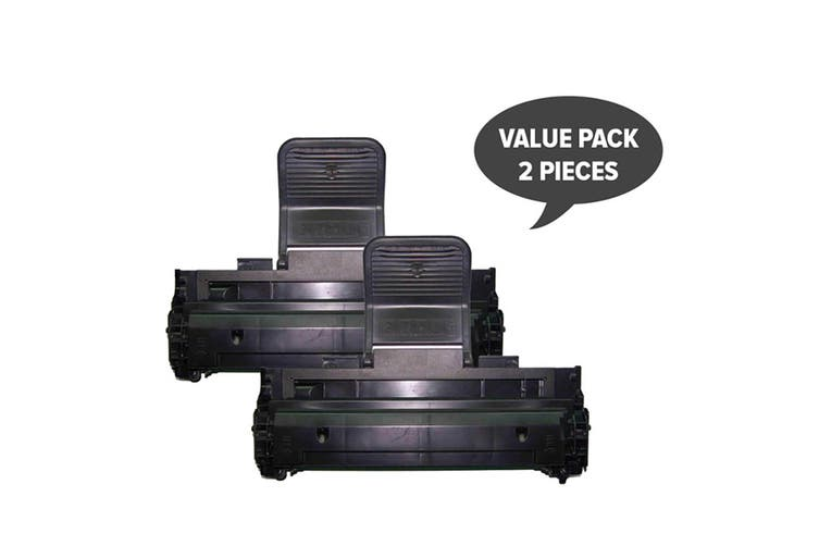 ML-1210D3 10S0063 109R639 E210 Black Premium Generic Toner (Two Pack)