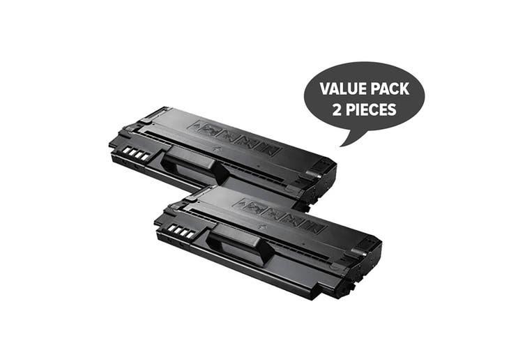 ML-1630 ML-D1630A SCX-4500 Black Premium Generic Laser Toner Cartridge (Two Pack)
