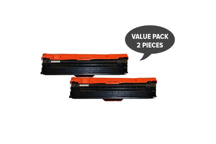CLT-C504K Premium Generic Black Toner (Two Pack)
