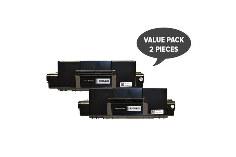 MLT-D205L Black Premium Generic Toner (Two Pack)