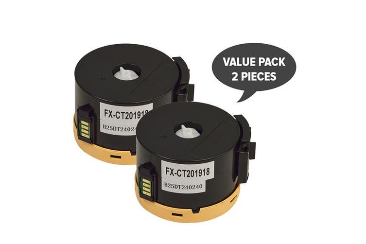 CT201918 Black Premium Generic Toner (Two Pack)