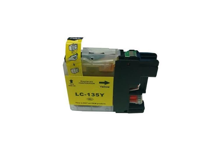 LC135XL Yellow Compatible Inkjet Cartridge