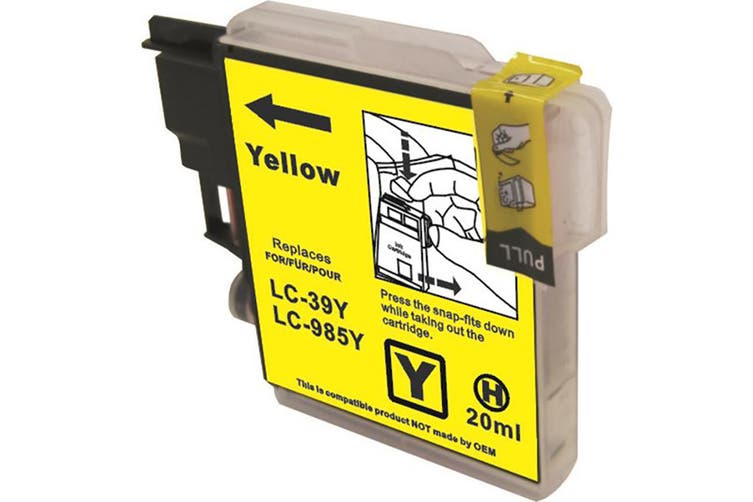 LC39 Compatible Yellow Cartridge