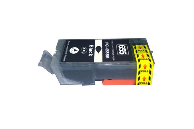 PGI-655XXL Pigment Black Compatible Cartridge