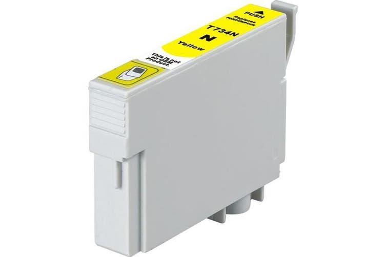 73N / T0734 Pigment Yellow Compatible Inkjet Cartridge