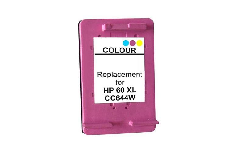 60XL Colour Remanufactured Inkjet Cartridge