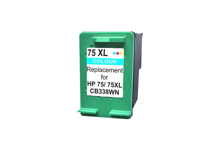 75XL CB338WN Remanufactured Inkjet Cartridge