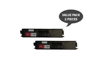 TN-348 Magenta Super High Yield Generic Toner (Two Pack)