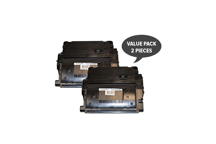 CE390X Premium Generic Laser Cartridge (Two Pack)