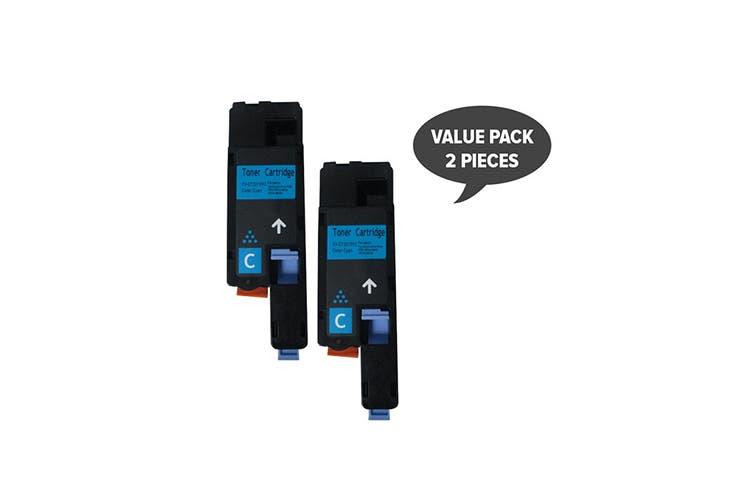 CT201592 CP105/205 Premium Generic Cyan Toner (Two Pack)