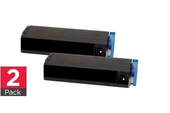 2 x CT201114 C1110 Black Premium Generic Toner