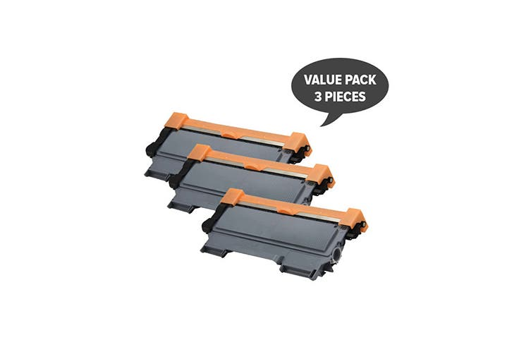 TN-2250 Black Premium Generic Cartridge (Three Pack)