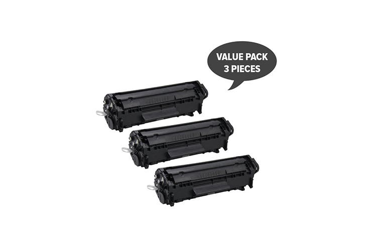 Q2612A #12A Cart-303 Premium Generic Toner (Three Pack)